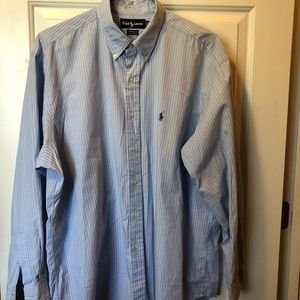 Ralph Lauren Pinstriped Dress Shirt Size 17-35:24